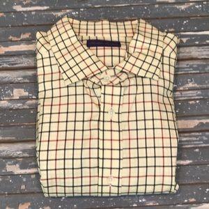 🔥 Ralph Lauren Purple Label XL checkered shirt